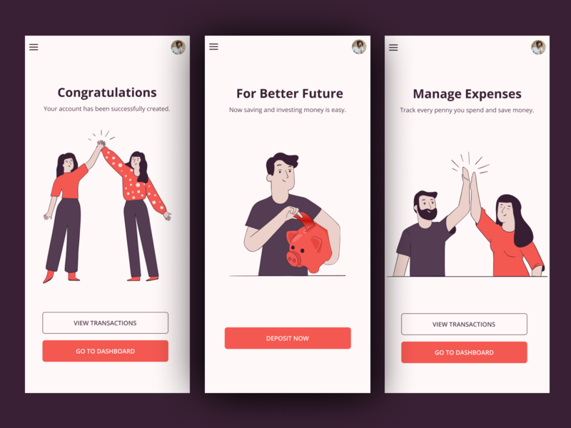 Expense management App design expense tracker expense ux uiux mobile design vector illustration app design user experience design ui design layout figma user interface