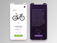 Cycle shop app