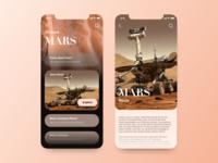 Planet Explorer App Concept/Mars