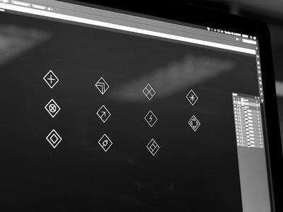 VIZIO UHD Icons zack travis zach travis imac icons vizio uhd envoy we are envoy icon microsite thin lines stroke