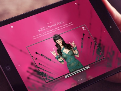 VIZIO VIA - 02 mobile interface tv stream app zack travis iphone envoy we are envoy responsive vizio color