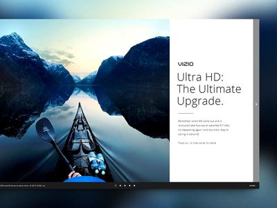 VIZIO UHD - 04 zack travis zach travis website menu vizio uhd envoy we are envoy advertisement play video interactive