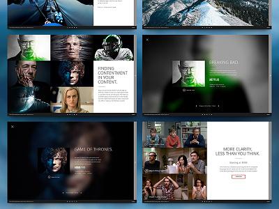 VIZIO UHD - 07 video play advertisement we are envoy envoy uhd vizio menu website zach travis zack travis