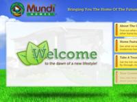 Landing Page - Mundi Homes