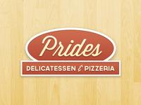 Prides Deli Logo Redesign
