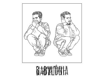 Booklet design for 'Babylon' movie design booklet