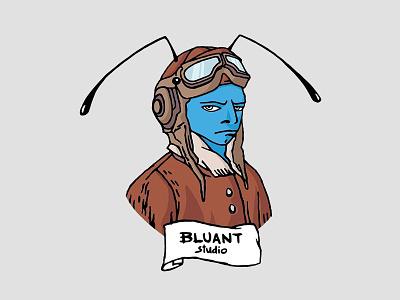 Bluant game studio game art adobe illustrator vecor illustration