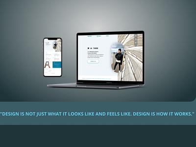 Self-shot design branding web ui
