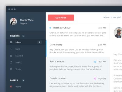 Mail App Design