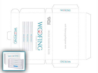 Label Design for Teeth Whiting Product