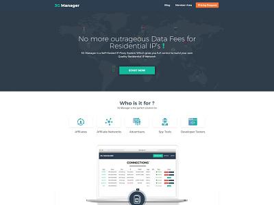 3g Manager Website update ux design website design agency web design design landing page psd design ui design