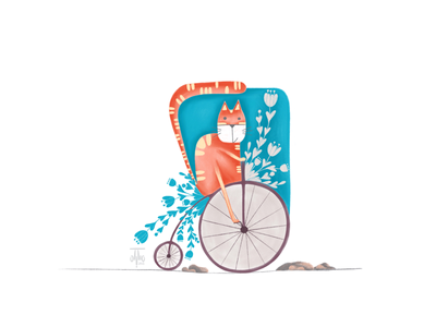 The Cycling Cat