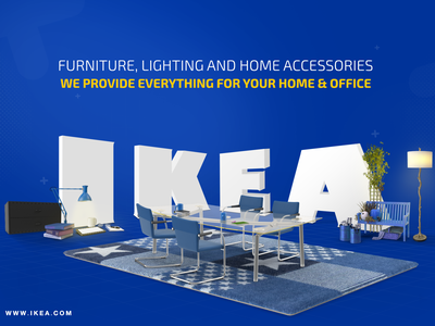 Unofficial design for IKEA concept advertise advert socialmedia social branding design compositing social media design poster a day photoshop dailyart advertising