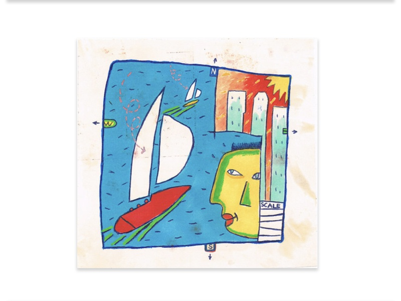 Architects Boat Race - Concept Sketch painting graphic design design contemporary art artwork illustration