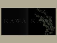 Kawakawa Art Catalogue - Cover Design - Overgloss Type