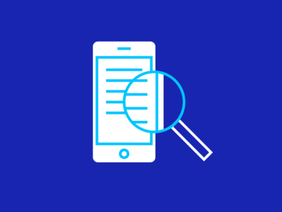 Mobile Search search magnifying glass iphone phone mobile