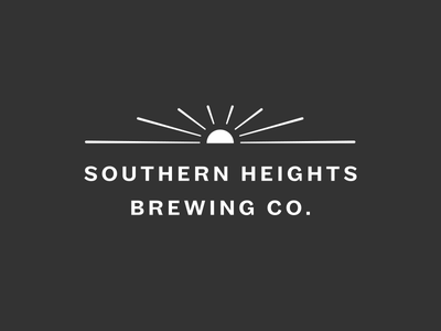 Southern Heights Brewing – secondary logo beer austin sun logo