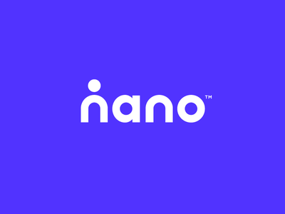 Nano Logo health person human logo science nanotechnology nano