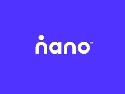 Nano Logo health person human logo science nanotechnology nano