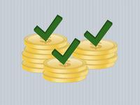 Gold Coins, Check