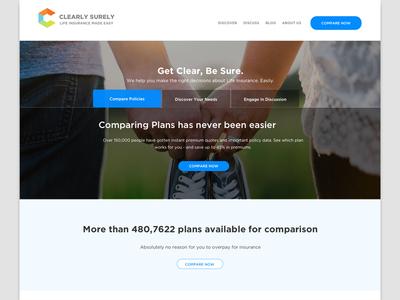 Web Design for Insurance Comparison Site