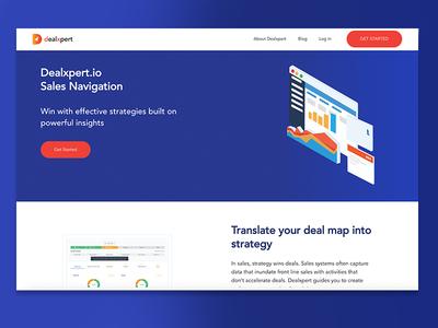 Web Design for Deal Navigator Site