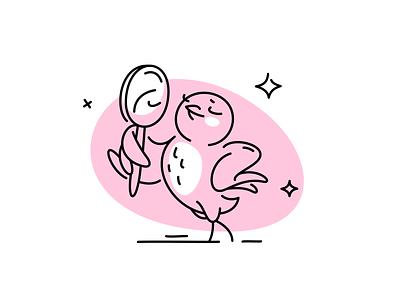 app illustrations app success placeholder sadness fragrance stroke line bird icons vector fourhands illustration