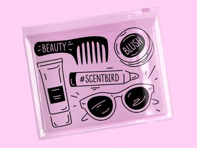 SB cosmetic bag