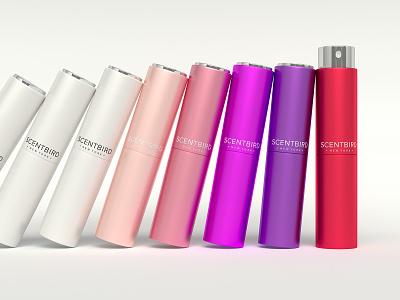 Perfume cases animation beauty cinema4d coronarender sound design closeup macro modelling perfume product shot colorful fourhands