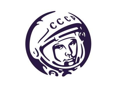 Gagarin  illustration vector gagarin space astronaut cosmonaut
