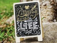 Lettering Signboard