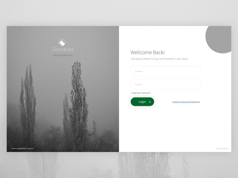 UI challenge | Sign Up Page