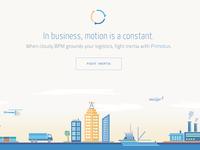 Landing Page Design for a new SaaS Platform