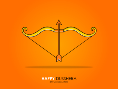Dusshera Illustration