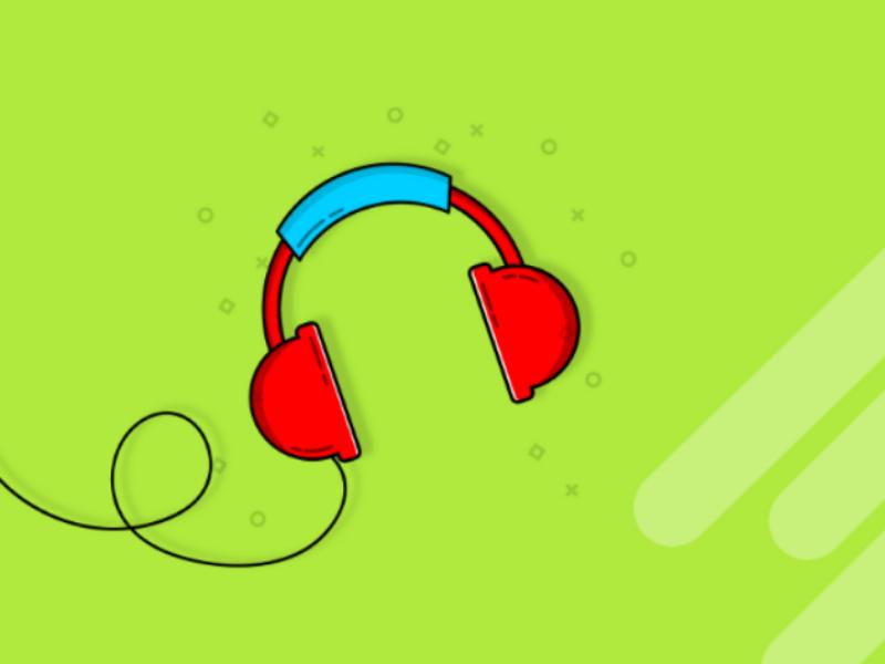 Headphone Illustration headphone gadgets illustration