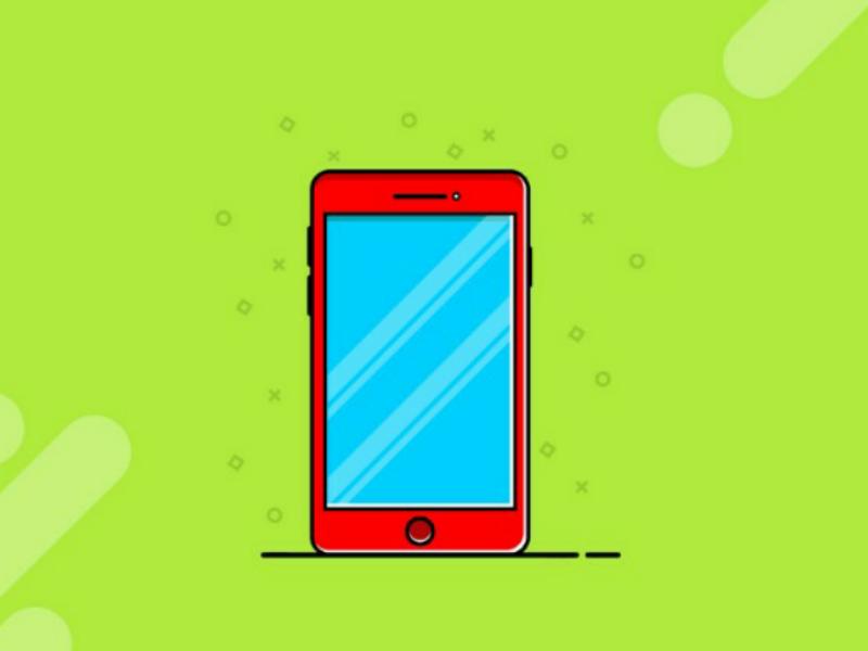 Mobile Illustration gadgets mobile illustration