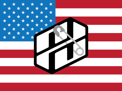 Safety Pin solidarity election usa united states america symbol pin safe