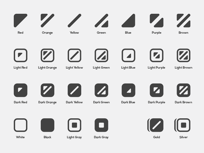 ColorADD Icons icon language symbol accessibility blind color