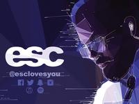 Business Card Musician ESC