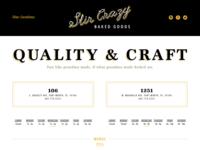 Stir Crazy Website