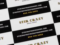 Stir Crazy Business Cards