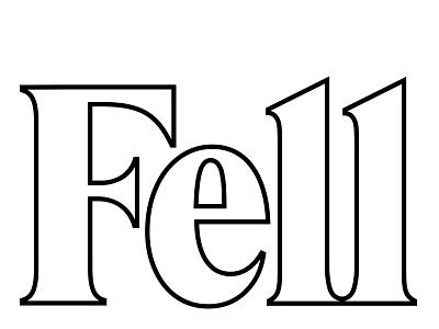 Fell salon logo salon friseur style outline white branding logo minimal fashion hair