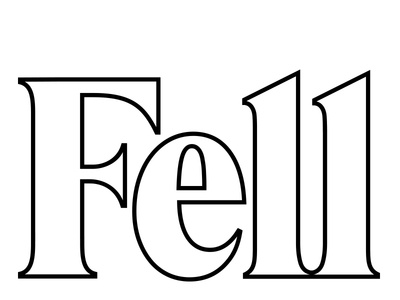 Fell salon logo