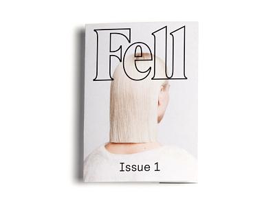 Fell Salon lookbook editorial minimalism minimal white friseur branding transparent hair fashion