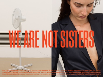 We Are Not Sisters SS17 clothing womenswear norm core minimal lookbook slovakia fashion