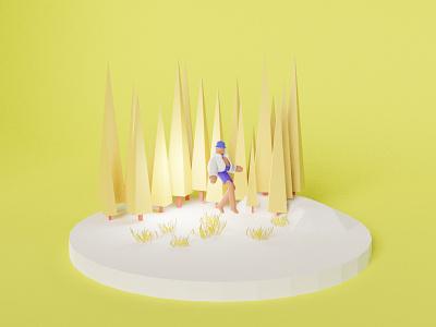3D ILLUSTRATION branding animation graphic design ui 3d