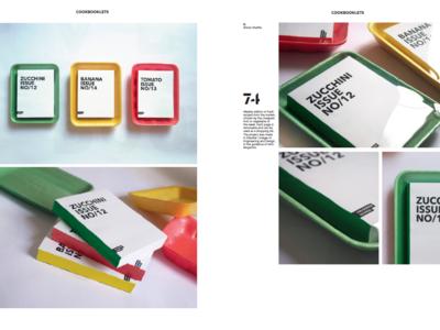 Cookbooklets package design packaging market typogaphy design book editorial cookbook