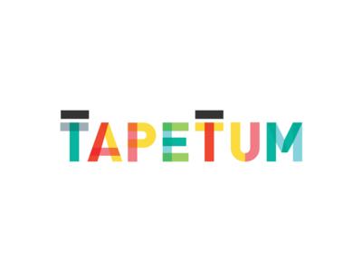 Tapetum vector tapetum type design typography app logo ui design