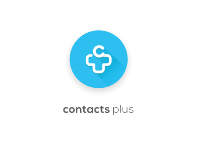 Cplus Logo logo design design contacts contacts plus typography vector ui logo app