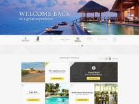 Greatest Hotels Website Design